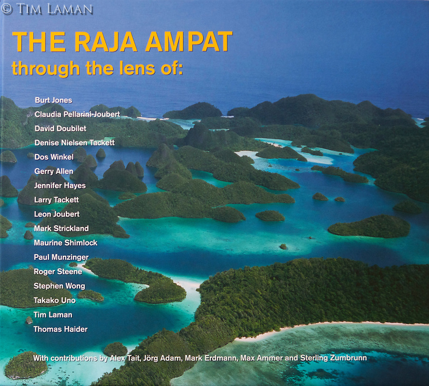 This book is a collection of images of the Raja Ampat region of Indonesia from top photographers.  Tim's chapter describes his love for the region above and below the water.