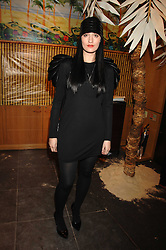 HANNAH MARSHALL at a party hosted by Mulberry to celebrate the publication of The Meaning of Sunglasses by Hadley Freeman held at Mulberry 41-42 New Bond Street, London on 14th February 2008.<br />