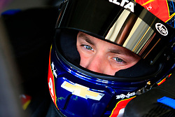 February 22, 2019 - Hampton, GA, U.S. - HAMPTON, GA - FEBRUARY 22: #88: Alex Bowman, Hendrick Motorsports, Chevrolet Camaro Axalta preps for first practice for the MENCS Folds of Honor QuikTrip 500 race on February 22, 2019 at the Atlanta Motor Speedway in Hampton, GA.  (Photo by David John Griffin/Icon Sportswire) (Credit Image: © David J. Griffin/Icon SMI via ZUMA Press)