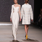 NLD/Amsterdam/20160115 - Amsterdam Fashion Week 2016 Winter, modeshow Claes Iversen,