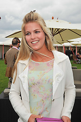 ALLEGRA VAN ZUYLEN at the 25th annual Cartier International Polo held at Guards Polo Club, Great Windsor Park, Berkshire on 26th July 2009.