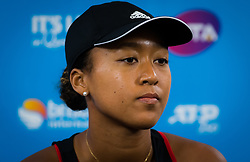 January 5, 2019 - Brisbane, AUSTRALIA - Naomi Osaka of Japan talks to the media after losing her semifinal at the 2019 Brisbane International WTA Premier tennis tournament (Credit Image: © AFP7 via ZUMA Wire)