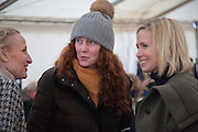 REBEKAH BROOKS;  Heythrop Point to Point. At a  new course at Cocklebarrow near Aldsworth. 11 January 2014