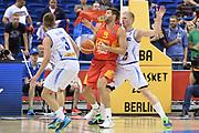 DESCRIZIONE : Berlino Berlin Eurobasket 2015 Group B Spain Iceland<br /> GIOCATORE : Felipe Reyes<br /> CATEGORIA : Controcampo penetrazione <br /> SQUADRA : Spain<br /> EVENTO : Eurobasket 2015 Group B <br /> GARA : Spain Iceland<br /> DATA : 09/09/2015 <br /> SPORT : Pallacanestro <br /> AUTORE : Agenzia Ciamillo-Castoria/Mancini Ivan<br /> Galleria : Eurobasket 2015 <br /> Fotonotizia : Berlino Berlin Eurobasket 2015 Group B Spain Iceland