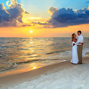 Singleton-Jackson Beach Wedding