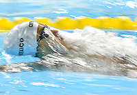 July 16, 2015: Juan del Pino of Mexico competing in the Men's 400m Individual Medley heat at the CIBC Aquatic Centre during the Toronto 2015 Pan America Games in Canada.