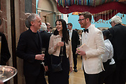 MICHAEL LANDY; GILLIAN WEARING; NICHOLAS CULLINAN,,  RA Annual dinner 2018. Piccadilly, 5 June 2018.