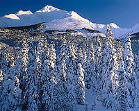 Kenai Mountains along Seward Highway on Kenai Peninsula Southcentral Alaska