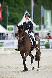 Hoy Bettina, (GER), Designer 10   watching the Dressage<br /> Dressage - CIC3* Luhmuhlen 2016<br /> © Hippo Foto - Jon Stroud<br /> 17/06/16
