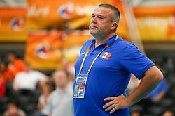 20170524 NED: 2018 FIVB Volleyball World Championship qualification, Koog aan de Zaan<br />Artur Romascan, headcoach of Republic of Moldova <br />©2017-FotoHoogendoorn.nl / Pim Waslander