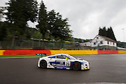 Car 26, Gregory Guilvert, Mike Parisy, Christopher Haase during the Blancpain Endurance Series at Spa, Belguim on 30 July 2016. Photo by Jarrod Moore.