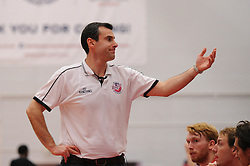 Bristol Flyers head coach Andreas Kapoulas - Mandatory byline: Dougie Allward/JMP - 07966 386802 - 23/10/2015 - FOOTBALL - SGS Wise Campus - Bristol, England - Bristol Flyers v Manchester Giants - British Basketball League
