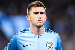 Aymeric Laporte of Manchester City - Mandatory by-line: Robbie Stephenson/JMP - 19/09/2018 - FOOTBALL - Etihad Stadium - Manchester, England - Manchester City v Lyon - UEFA Champions League Group F