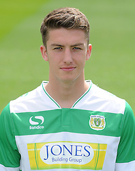 Yeovil Town's Alex Lacey - Photo mandatory by-line: Harry Trump/JMP - Mobile: 07966 386802 - 06/08/15 - SPORT - FOOTBALL - Yeovil Town Press Day - Huish Park, Yeovil, England.