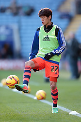 Bolton Wanderers' Lee Chung-Yong - Photo mandatory by-line: Nigel Pitts-Drake/JMP - Tel: Mobile: 07966 386802 29/12/2013 - SPORT - FOOTBALL - King Power Stadium - Leicester - Leicester City v Bolton Wanderers - Sky Bet Championship