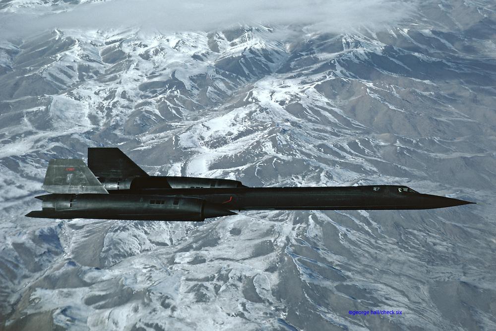 SR-71, Sierra
