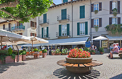 Stresa's Piazza Cadorna forms the pedestrians-only heart of town, a great place to settle into a cafe or bench for serious people-watching.