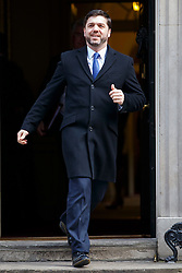 © licensed to London News Pictures. London, UK 18/03/2015. Welsh Secretary Stephen Crabb attending to a cabinet meeting in Downing Street on the Budget Day, Wednesday, 18 March 2015. Photo credit: Tolga Akmen/LNP