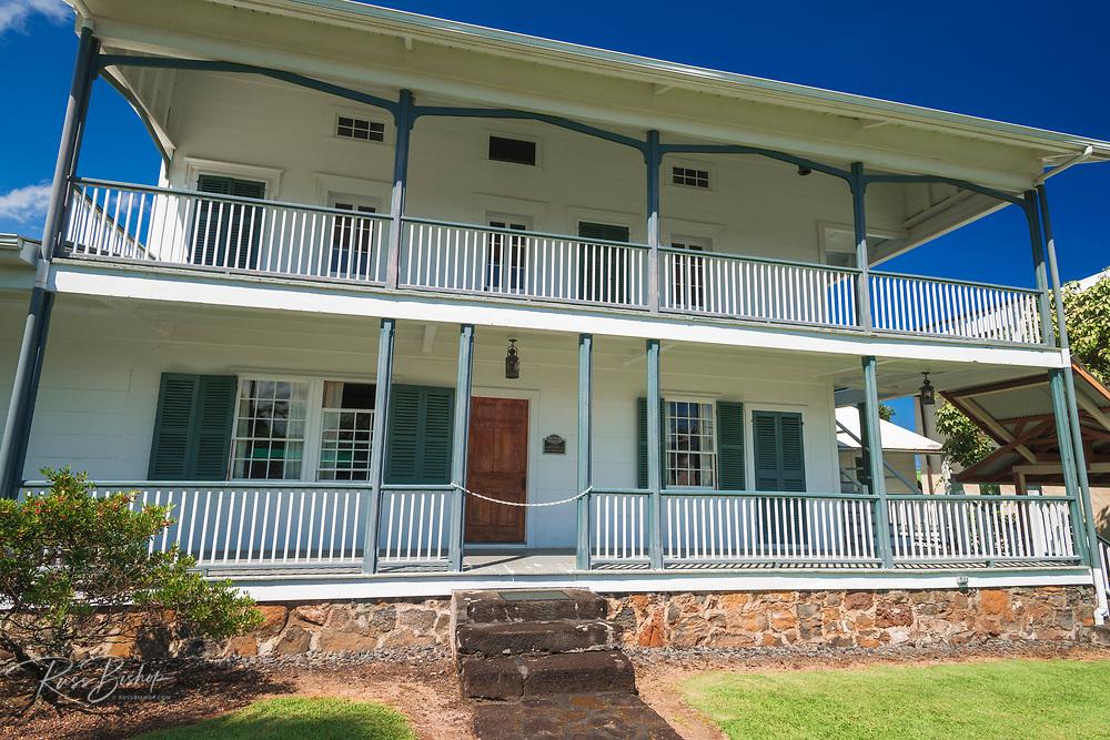 Lyman House and Museum, Hilo, The Big Island, Hawaii USA