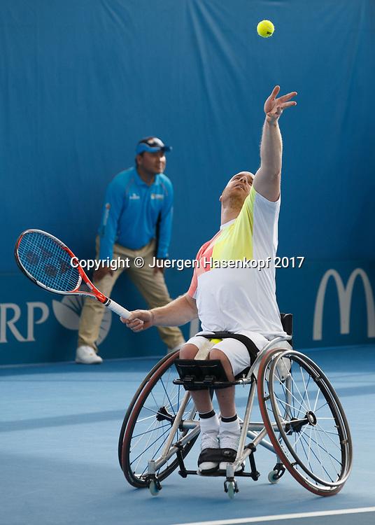MAIKEL SCHEFFERS (NED), Rollstuhl Tennis<br /> <br /> Tennis - Brisbane International  2017 - ITF -  Pat Rafter Arena - Brisbane - QLD - Australia  - 6 January 2017. <br /> &copy; Juergen Hasenkopf