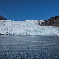 The Holgate Glacier, an outlet of the Harding Icefield, Kenai Fjords National Park, Alaska