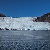 The Holgate Glacier, an outlet of the Harding Icefield, Kenai Fjords National Park, Alaska