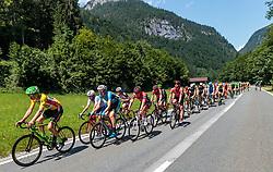 06.07.2017, Kitzbühel, AUT, Ö-Tour, Österreich Radrundfahrt 2017, 4. Etappe von Salzburg auf das Kitzbüheler Horn (82,7 km/BAK), im Bild Sep Vanmarcke (BEL, Cannondale Drapac Professional Cycling Team) führt das Peloto an // Sep Vanmarcke (BEL Cannondale Drapac Professional Cycling Team) leads the Peloton during the 4th stage from Salzburg to the Kitzbueheler Horn (82,7 km/BAK) of 2017 Tour of Austria. Kitzbühel, Austria on 2017/07/06. EXPA Pictures © 2017, PhotoCredit: EXPA/ JFK