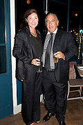 KATE PHELAN; SIR PHILIP GREEN, Leaving dinner for Kate Phelan given by Alex Shulman and Mary Homer. Riding House Cafe. Great Titchfield st. London. 20 September 2011. <br /> <br />  , -DO NOT ARCHIVE-© Copyright Photograph by Dafydd Jones. 248 Clapham Rd. London SW9 0PZ. Tel 0207 820 0771. www.dafjones.com.