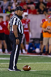NORMAL, IL - September 07: Scott Jones during a college football game between the ISU (Illinois State University) Redbirds and the Morehead State Eagles on September 07 2019 at Hancock Stadium in Normal, IL. (Photo by Alan Look)