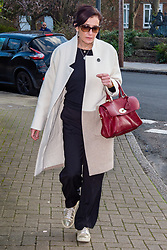 © Licensed to London News Pictures. 06/03/2020. London, UK. Emma Langford leaves Isleworth Crown Court where she was sentenced for an air rage incident related to being drunk on board flight BA043 for Cape Town on 6 December 2018. Photo credit: Peter Manning/LNP