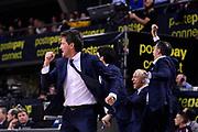 Gianmarco Pozzecco of Banco di Sardegna Sassari   <br /> Banco di Sardegna Sassari - Happy Casa Brindisi<br /> Postemobile Final Eight 2019 Zurich Connect<br /> Basket Serie A LBA 2018/2019<br /> FIRENZE, ITALY - 16 February 2019<br /> Foto Mattia Ozbot / Ciamillo-Castoria