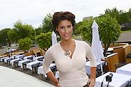 AMSTERDAM - In The Oyster Club aan het Olympisch Stadion te Amsterdam hield het lifestylemagazine TALKIES een Lifestyle Lunch. Diversen bekende Nederlanders waren hierbij uitgenodigd. Met op de foto  Kristina Bozilovic. FOTO LEVIN DEN BOER - PERSFOTO.NU