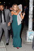 Dec. 15, 2015 - New York City, NY, USA - <br /> <br /> Singer Mariah Carey leaves her Tribeca apartment on the way to a concert at the Beacon Theatre<br /> ©Exclusivepix Media