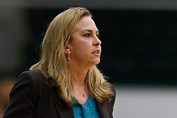 Dec 7, 2011; San Francisco CA, USA; Florida Gators head coach Amanda Butler on the sidelines against the San Francisco Lady Dons during the first half at War Memorial Gym.  Mandatory Credit: Jason O. Watson-US PRESSWIRE