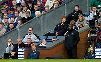 Photo. Jed Wee, Digitalsport<br /> NORWAY ONLY<br /> <br /> Blackburn Rovers v Manchester United, FA Barclaycard Premiership, 01/05/2004.<br /> A sparse Manchester United bench sees no Roy Keane or Ruud van Nistelrooy.