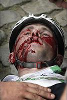 Wevelgem -  Belgie - wielrennen - cycling - radsport - Gent - Wevelgem - Protour -Jimmy Casper (Fra-Unibet)