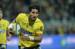 October 28, 2017 - Clermont-Ferrand - Stade Marcel, France - Sitaleki Timani  (Credit Image: © Panoramic via ZUMA Press)