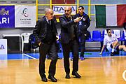 Gianni Petrucci, Marco Gatta<br /> Italia Italy - Repubblica Ceca Czech Republic<br /> FIBA Women's Eurobasket 2021 Qualifiers<br /> FIP2019 Femminile Senior<br /> Cagliari, 14/11/2019<br /> Foto L.Canu / Ciamillo-Castoria