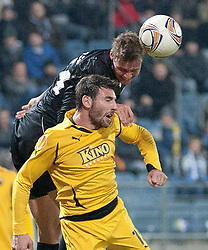 14.12.2011, UPC Arena, Graz, AUT, UEFA Europa League , Sturm Graz vs AEK Athen FC, im Bild Roman Kienast (SK Puntigamer Sturm Graz, #24) // during UEFA Europa League football game between Sturm Graz and AEK Athens FC at UPC Arena in Graz, Austria on 14/12/2011. EXPA Pictures © 2011, PhotoCredit: EXPA/ E. Scheriau
