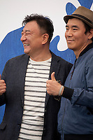 Producer Choi Jae-Won and Director Kim Jee-woon at the The Age Of Shadows film photocall at the 73rd Venice Film Festival, Sala Grande on Saturday September 3rd 2016, Venice Lido, Italy. Photography: Doreen Kennedy