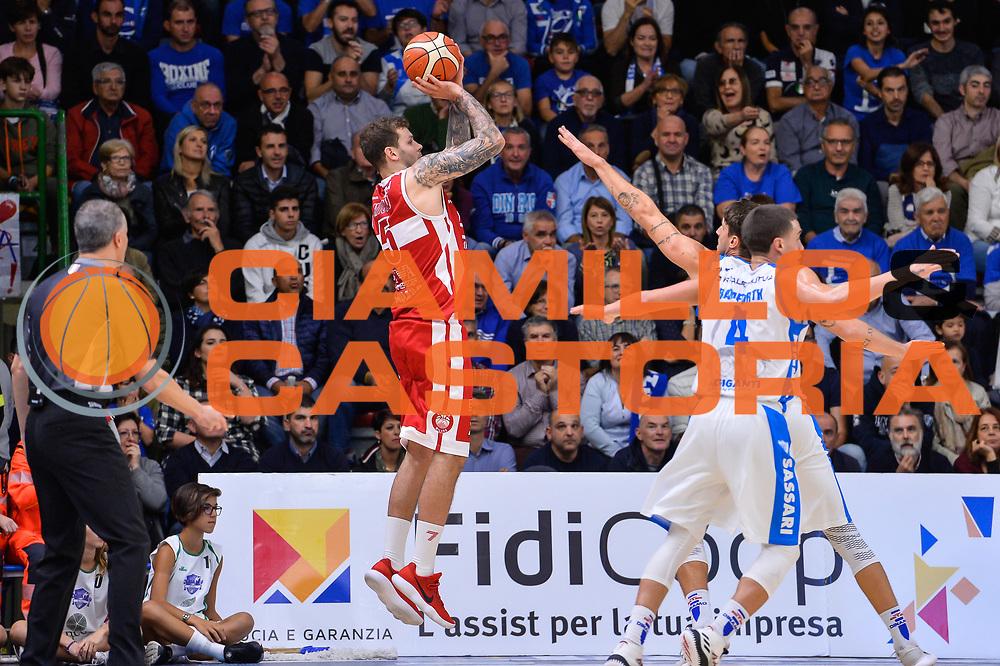 Vladimir Micov<br /> Banco di Sardegna Dinamo Sassari - Olimpia EA7 Emportio Armani Milano<br /> LegaBasket LBA Poste Mobile 2017/2018<br /> Sassari, 29/10/2017<br /> Foto L.Canu / Ciamillo-Castoria