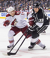 Hockey: Los Angeles Kings vs Phoenix Coyotes
