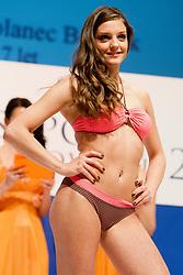 Mihaela Polanec Bercnik during event Miss Sports of Slovenia 2013, on April 20, 2013, in Festivalna dvorana, Ljubljana, Slovenia. (Photo by Urban Urbanc / Sportida.com)