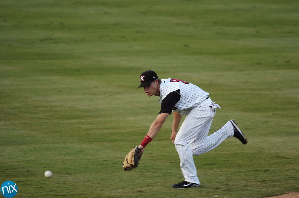 Beckham was drafted 8th by the Chicago White Sox out of the University of Georgia. Beckham's Bulldogs made it to the final round of the College World Series before losing to Fresno State.