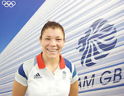 Team GB House Press Conference <br /> Stratford, London, Great Britain <br /> Sunday 5th August 2012 <br /> Olympics 2012 London <br /> <br /> Olga Butkevych - Team GB's competitor in Freestyle Women's 55KG Wrestling (Pre-Competition)<br /> <br /> <br /> Jessica Ennis Gold Medalist in the women's  Heptathlon <br /> <br /> <br /> Greg Rutherford, gold medallist in the men&rsquo;s long jump<br /> <br /> Team GB Ambitions Programme delegates visiting Team GB House <br /> <br /> Photograph by Elliott Franks