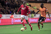 Mark Little, Kortney Hause during the Sky Bet Championship match between Wolverhampton Wanderers and Bristol City at Molineux, Wolverhampton, England on 8 March 2016. Photo by Daniel Youngs.
