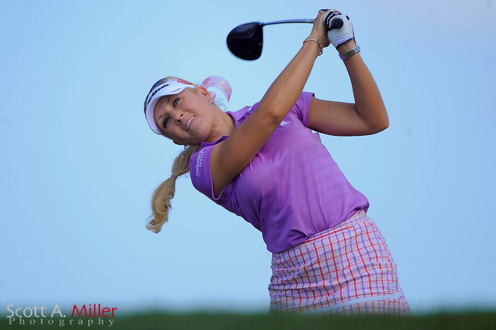 Natalie Gulbis in action during the first round of the Ginn Open at Reunion Resort on April 17, 2008 in Reunion, Florida...©2008 Scott A. Miller