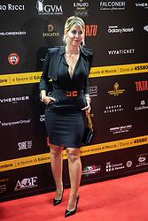 MAURO ICARDI'S WIFE WANDA NARA<br /> CONCERT ANDREA BOCELLI'S NIGHT IN VERONA ARENA<br /> VERONA (ITALY) SEPTEMBER 9, 2018<br /> PHOTO BY FILIPPO RUBIN