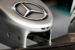 August 25, 2017 - Spa-Francorchamps, Belgium - Motorsports: FIA Formula One World Championship 2017, Grand Prix of Belgium, .technical detail, Mercedes AMG Petronas F1 Team  (Credit Image: © Hoch Zwei via ZUMA Wire)