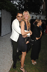 MELISSA ODABASH and GERRY DEVEAUX at a party to celebrate Le Touessrok a luxury resort in Mauritius, held at The Hempel, 31-35 Craven Hill Gardens, London W2 on 12th June 2007.<br />